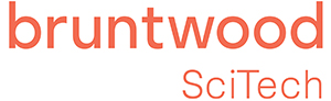 Logo bruntwood scitech Red